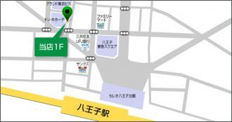 フェステ140の地図