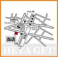 イーズパルスの地図