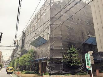 小石川ザ・レジデンスイーストスクエアの外観
