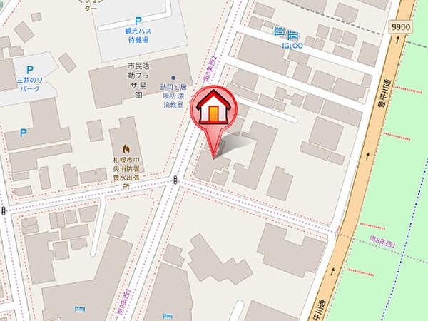 ハビターエイトビル【ホームズ】建物情報|北海道札幌市中央 ...