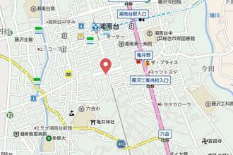 パークハイツ湘南台2の地図