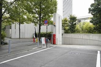 クレストプライムタワー芝の駐車場