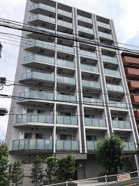 グローリオ新宿夏目坂の外観