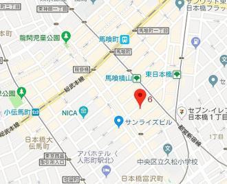 カスタリア東日本橋3の地図