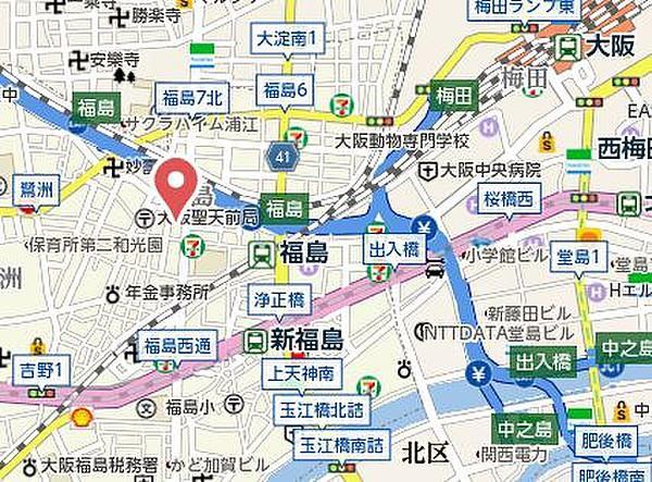 大阪 福島 税務署
