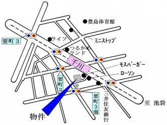 ヴィラ・ロイヤルの地図