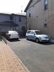アムールの駐車場