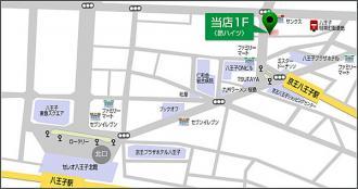 藤栄マンションの地図